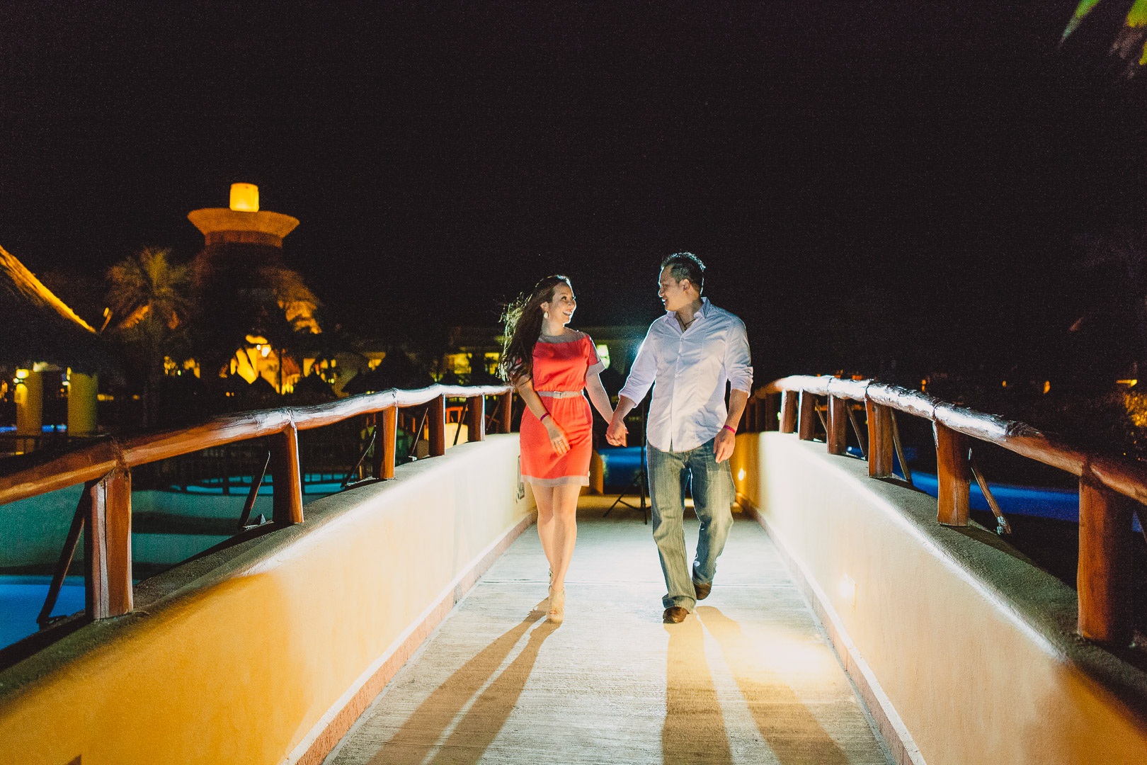 Vancouver Engagement Shoot in Mexico