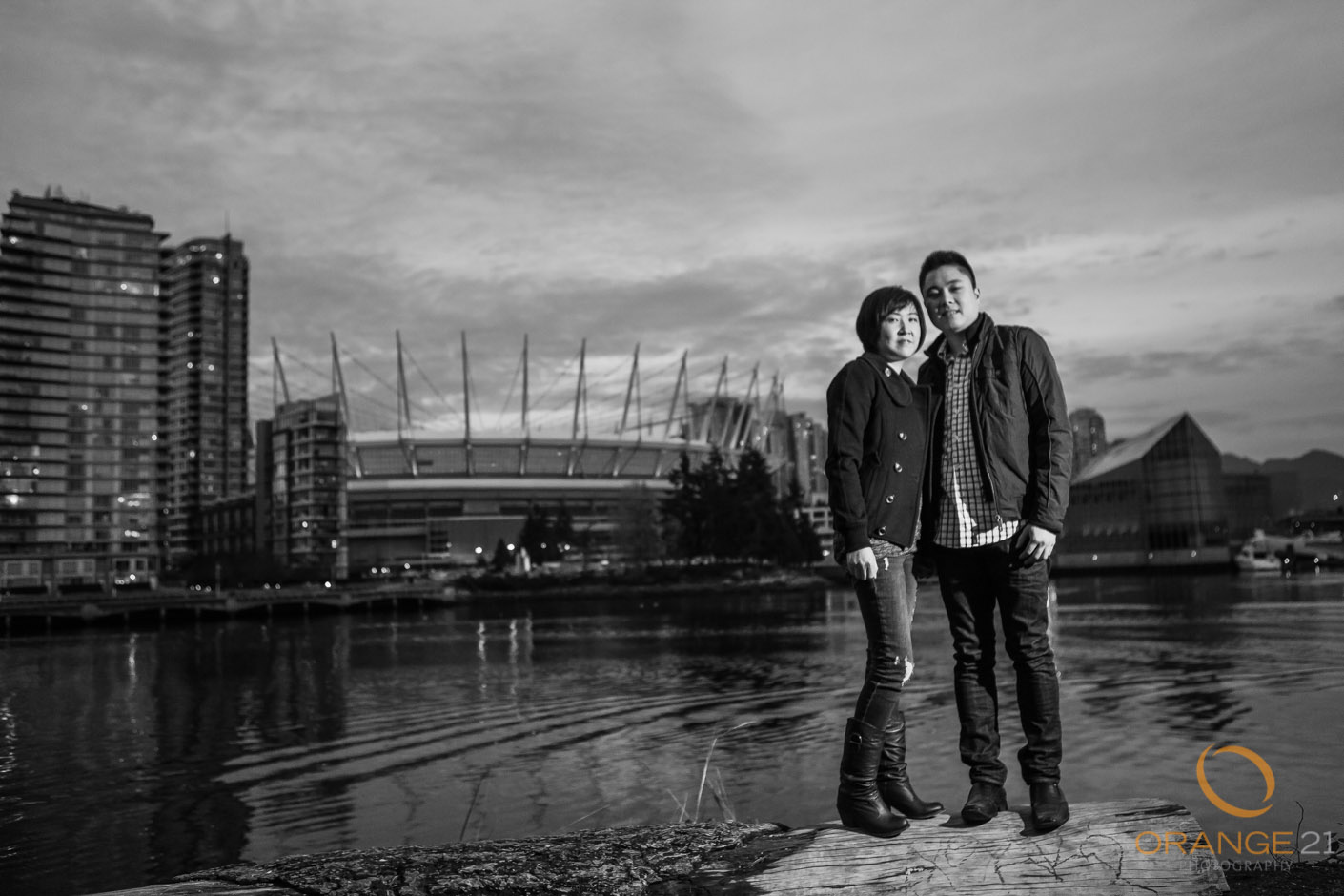 Liena and Gary's Vancouver Engagement shoot