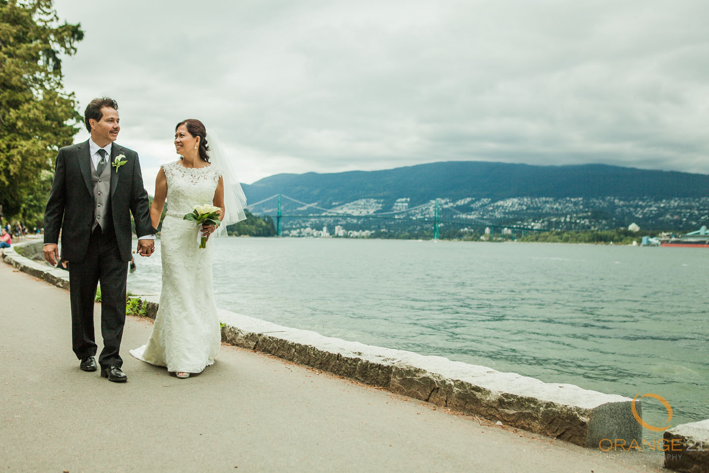 Tess and Tom Vancouver Wedding Photography
